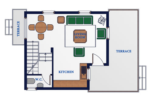 E Type House – 2 Bedroom – Tanyel Construction