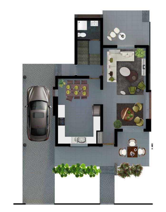G Type Houses – Jasmine Houses – Tanyel Construction
