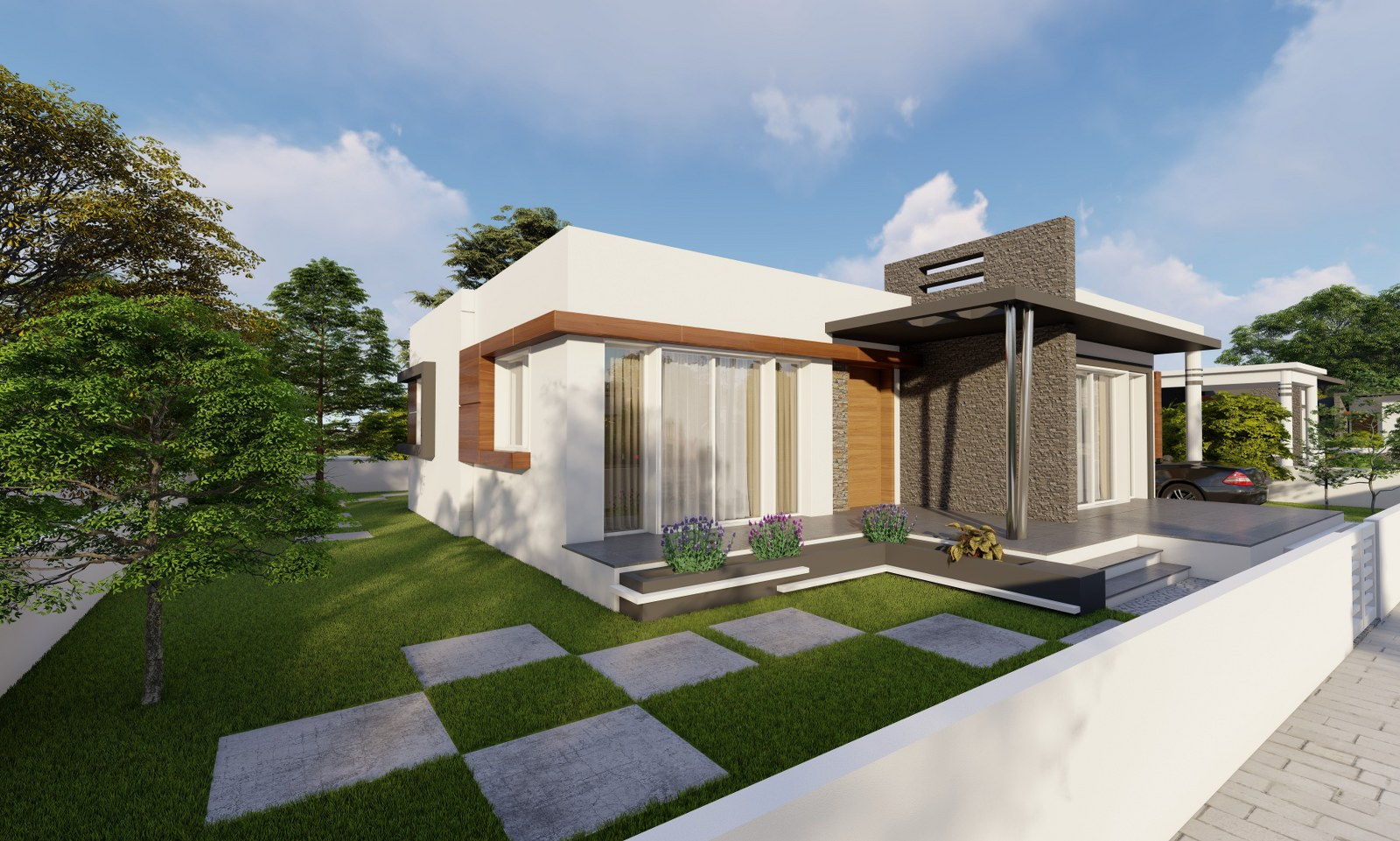 D Type Houses – Jasmine Houses – Tanyel Construction