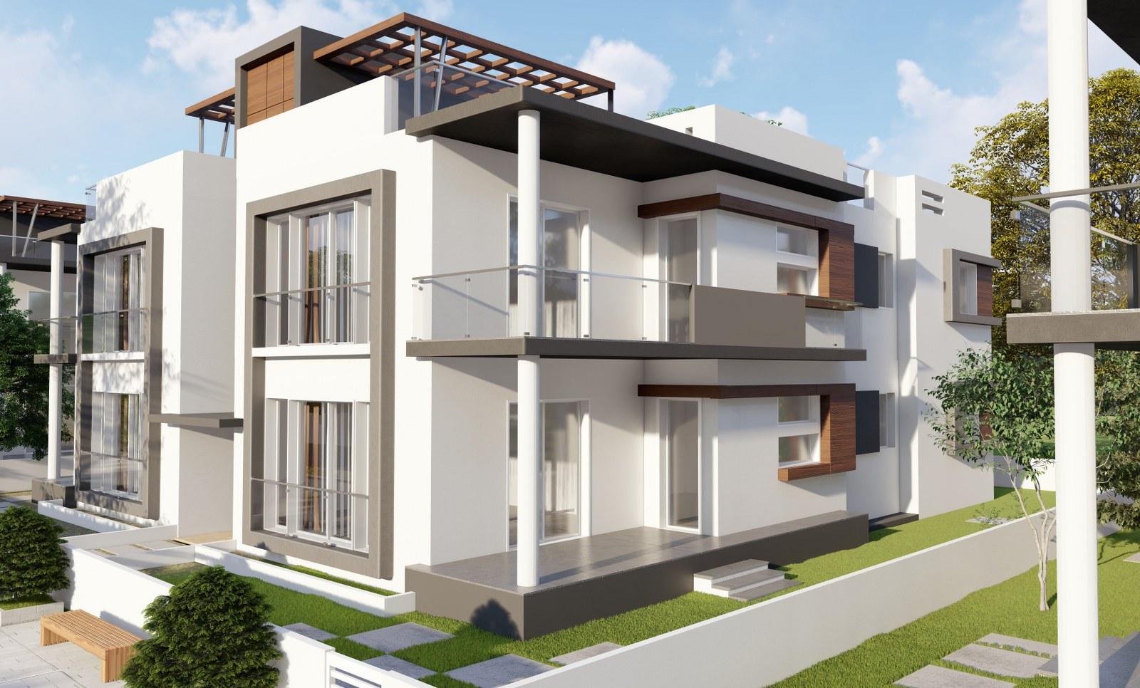 S Type Houses – Jasmine Houses – Tanyel Construction